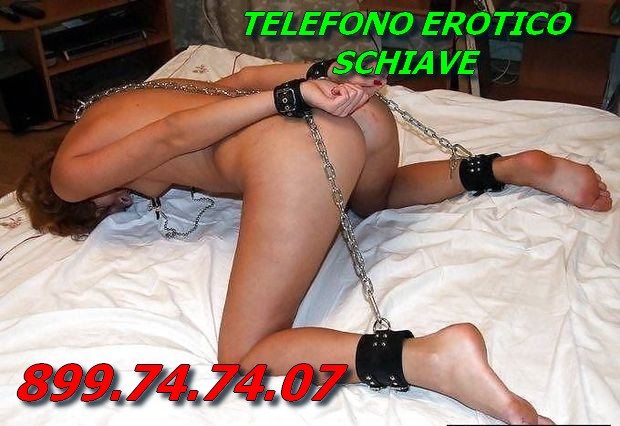 Telefono erotico schiave