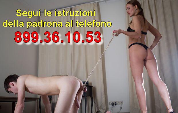 Mistress Padrona al Telefono