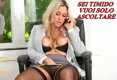 Telefono erotico ascolta godi